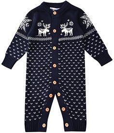 ZOEREA peleles bebe invierno Suéter sweater sudaderas niño suéter navidad 0-18 meses #modainfantil #modanavidad #ropainfantil #ropanavidad