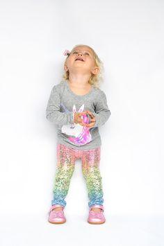 Unicornio leggings niña polainas niño por LacedWithLoveShop en Etsy
