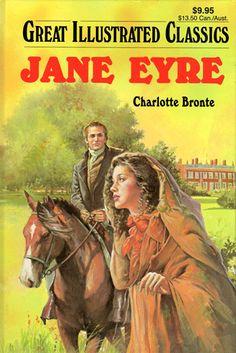 Jane Eyre hardback cover - 2004. Cover art: Joseph Miralles