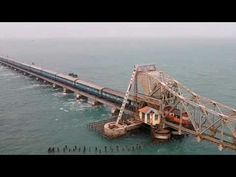 Mother Of All Bridges Pamban 1 - YouTube