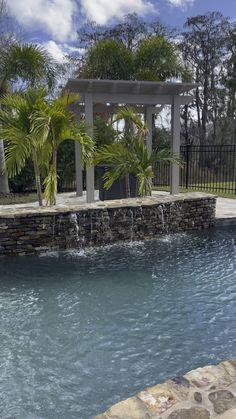 Backyard Pool Landscaping, Backyard Pool Designs, Swimming Pools Backyard, Pool And Patio, Outdoor Pool, Sand Backyard, Inground Pool Designs, Swimming Pool Designs, Swimming Pool Architecture