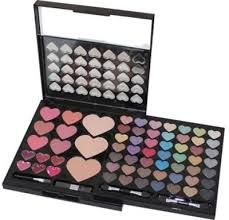 heart makeup kit make you beautiful and lovley Make Up, Make It Yourself, Makes You Beautiful, Makeup Kit, Makeup Collection, Projects To Try, Eyeshadow, Nails, Kawaii