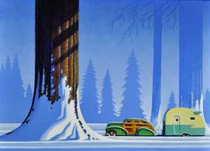 Robert LaDuke - Winter Among Giants