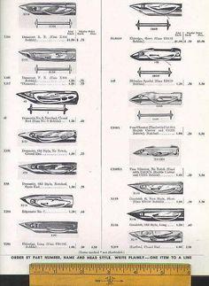 Master Catalog Page 29 - Sewing Machine Shuttle Identification