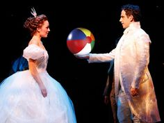 """Cinderella """"The prince is giving a ball!""""... The prinsrs didn't want the ball tack the ball back!"""