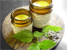 Herbal Menthol Vapor Rub - Made with Coconut Oil, Beeswax, White Camphor, Menthol Crystals, Ravensara, Eucalyptus, Rosemary