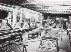 A WWII aircraft factory in Coventry.  This facility was one of the main reason's behind Hitler's raids on Coventry.