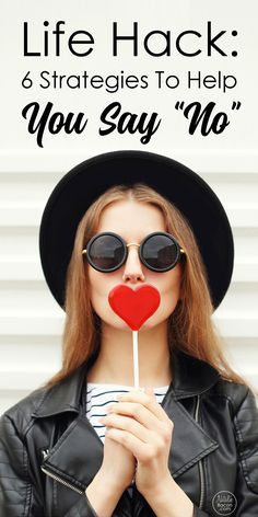 Six strategies to help you say no without feeling guilty. Learn how to live the life you've always dreamed of. It all starts with saying no.