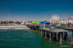 Santa Monica Pier, Los Angeles, California, USA - Luxury Travel Blog #travelblog #travel #losangeles