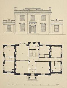 Design for a Country House, England