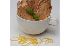 Gluten Free Dairy Free Lemon Basil Biscotti | This makes a wonderful ...