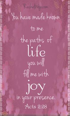 May you find joy in the presence of God today!
