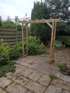 Small Garden Arbour, Garden Arbor, Pergola, Arch, Outdoor Structures, Longbow, Arches, Wedding Arches, Bow