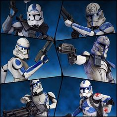 501st before the fall of the Republic and Order 66