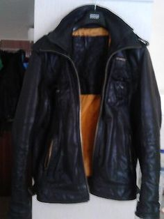 Men's Superdry Ryan real Leather jacket 2XL £224.99 when new.