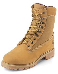 Chippewa 24950 - Men's 8 Inch Golden Tan Insulated Sportility Nubuc Panel Boot Style