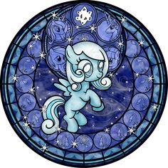 Snowdrop MLP | Stained Glass: Snowdrop by Akili-Amethyst