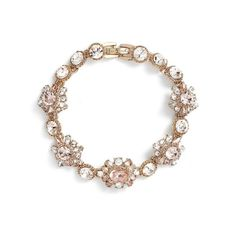 Women's Marchesa Line Bracelet ($78) ❤ liked on Polyvore featuring jewelry, bracelets, sparkling jewellery, marchesa, marchesa jewelry and sparkle jewelry