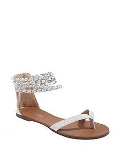 Guess Takira Chain-Detail Sandals