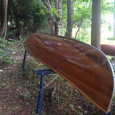 16' Giesler Cedar Strip Canoe North Bay Ontario image 1