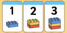 Build A Tower Numbers 1 20 - counting, counting aid, numeracy - twinkl
