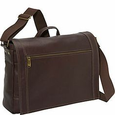 Most Organized Small Men's Leather Messenger Bags - eBags.com