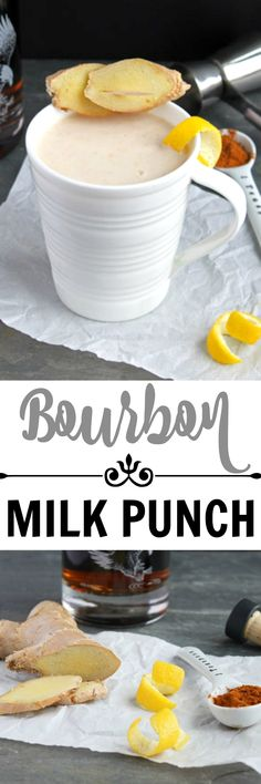 bourbon milk punch homemade milk punch a southern classic cocktail ...