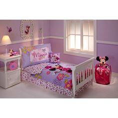 Disney Minnie Mouse Flower Garden 10-Piece Toddler Bedding Set