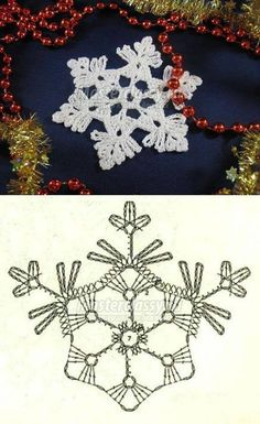 Crochet picture result for stars free- crochet picture result stars Crochet Diy, Thread Crochet, Crochet Motif, Crochet Doilies, Crochet Flowers, Crochet Christmas Ornaments, Christmas Crochet Patterns, Christmas Snowflakes, Christmas Crafts