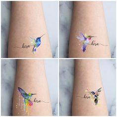 Baby Name Tattoos, Mom Tattoos, Cute Tattoos, Body Art Tattoos, Small Tattoos, Small Colorful Tattoos, Family Tattoos, Print Tattoos, Name Tattoos For Moms