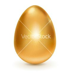 Golden egg vector by 31moonlight31 on VectorStock®