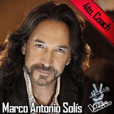 Marco Antonio Solís coach de La Voz México