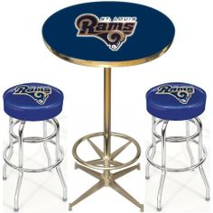 Use this Exclusive coupon code: PINFIVE to receive an additional 5% off the St. Louis Rams Pub Table Set at SportsFansPlus.com