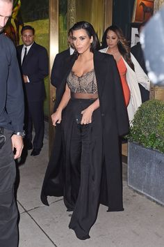 Out in New York City. See all of Kim Kardashian's best 2015 looks.