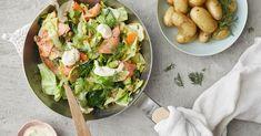 Ikean lihapullien ja kermakastikkeen reseptit – Keittiössä, kotona ja puutarhassa   Meillä kotona Guacamole, Potato Salad, Tacos, Potatoes, Ethnic Recipes, Food, Potato, Essen, Meals