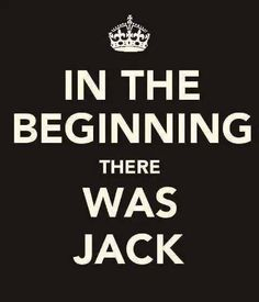 and jack had a grooove....True ravers are the only ones who will understand this. Let there be HOUSE!