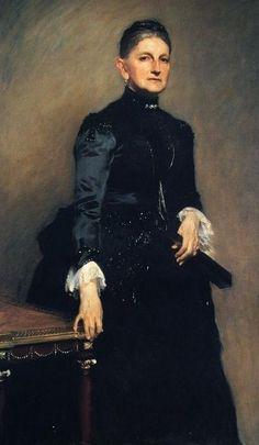 John Singer Sargent (American expatriate artist, 1856-1925) Mrs Adrian Iselin