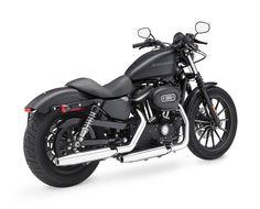 2009 Harley-Davidson Sportster 883 Iron XL883N #motorcycles