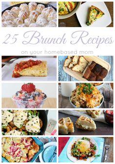 25 Brunch Recipes