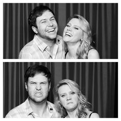 Taran Killam and Kate McKinnon