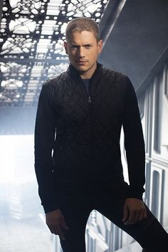 Wentworth Miller as Leonard Snart/Captain Cold in The Flash & Legends of Tomorrow