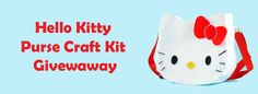 Hello Kitty Purse Craft Review and Giveaway