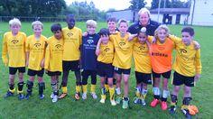 De voetballers van U13 Zeehaven-Zeebrugge