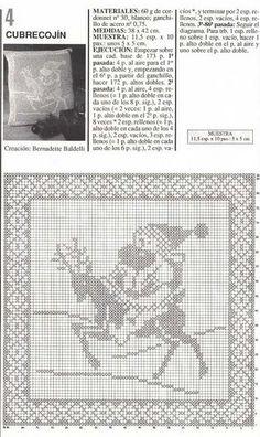 Kissen häkeln - crochet pillow