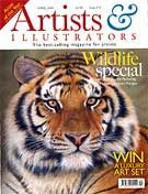 As seen of the cover of The Artists and Illustrators mag