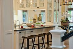 Breezy Brentwood - traditional - kitchen - los angeles - Jill Wolff Interior Design