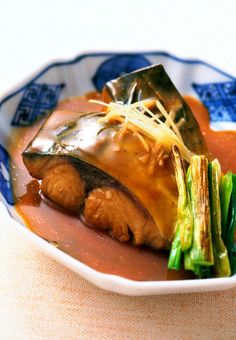 Japanese Food Saba Miso (Mackerel Braised in Miso Sauce), Very Popular Home Cooking Dish and Typical Mom's Meal in Japan|サバのみそ煮