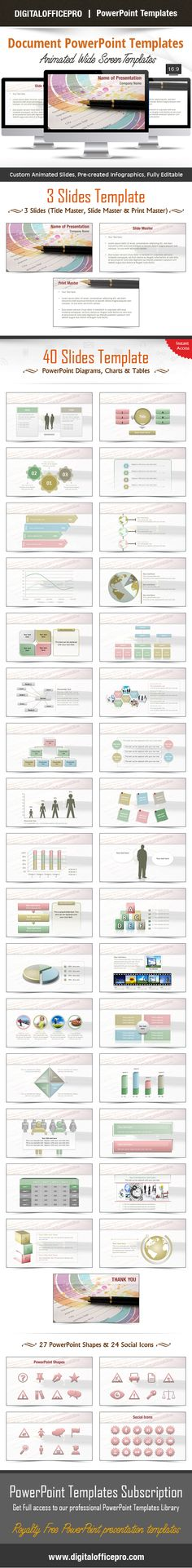 Business Personnel Silhouettes PowerPoint Template Backgrounds - office powerpoint template