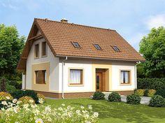 Projekt domu Tamarillo Bursztynowy 109,9 m2 - koszt budowy - EXTRADOM