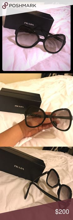 Prada sunglasses 😎 Brand new! Bought from dillards. Flawless. No trades, reasonable offers welcomed with offer button ☺️ Prada Accessories Sunglasses